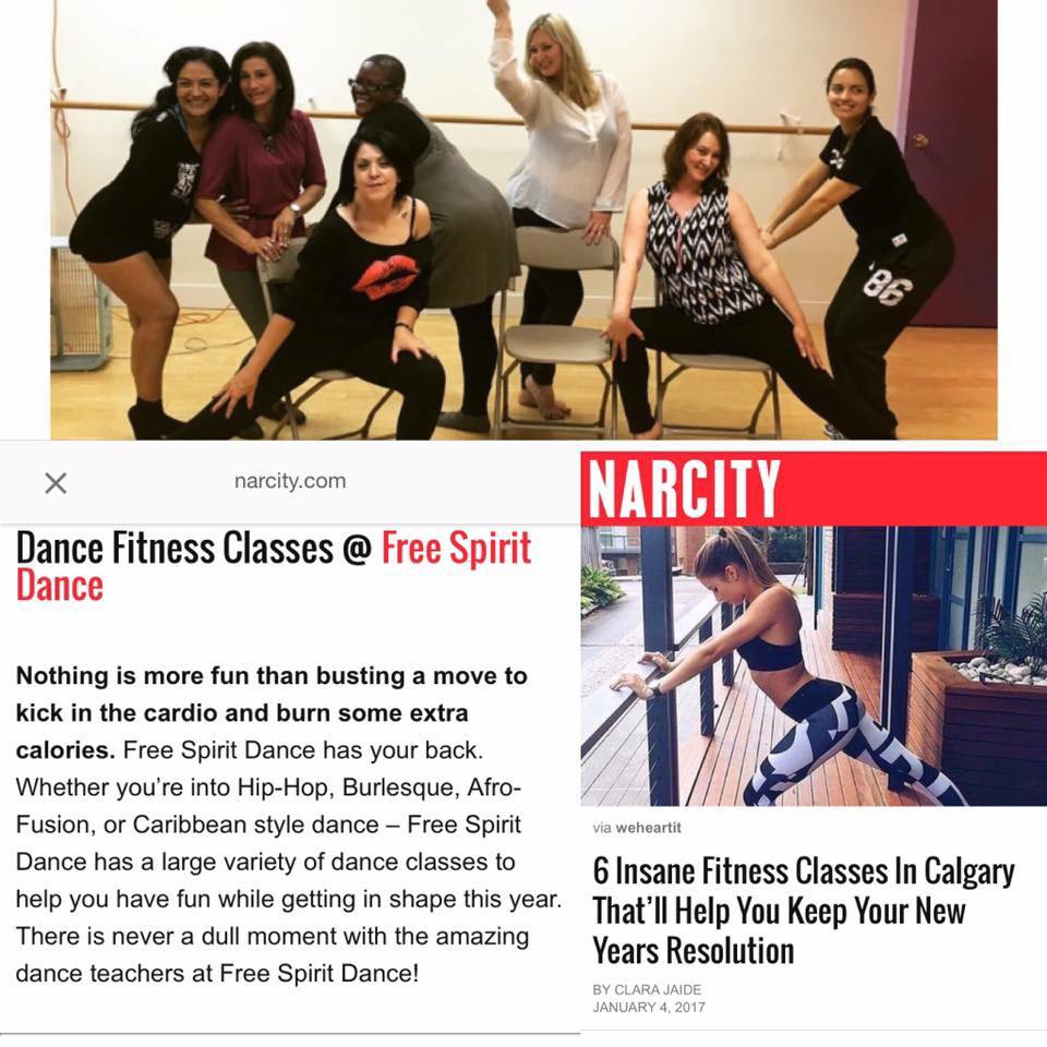 fitness classes nw calgary