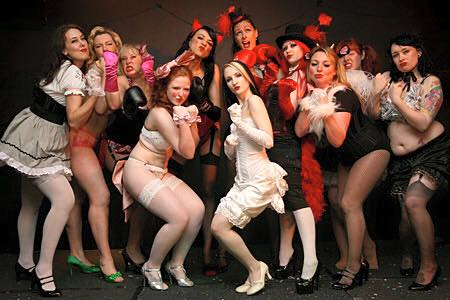 Calgary Burlesque Classes