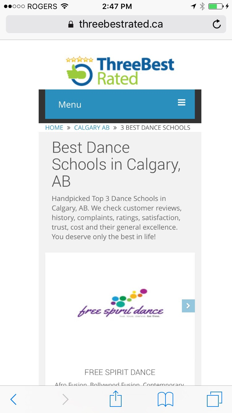 Number One Dance School in Calgary