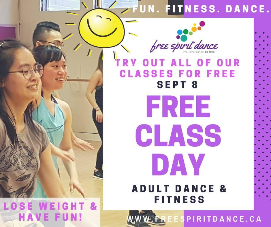 adult dance class fall registration
