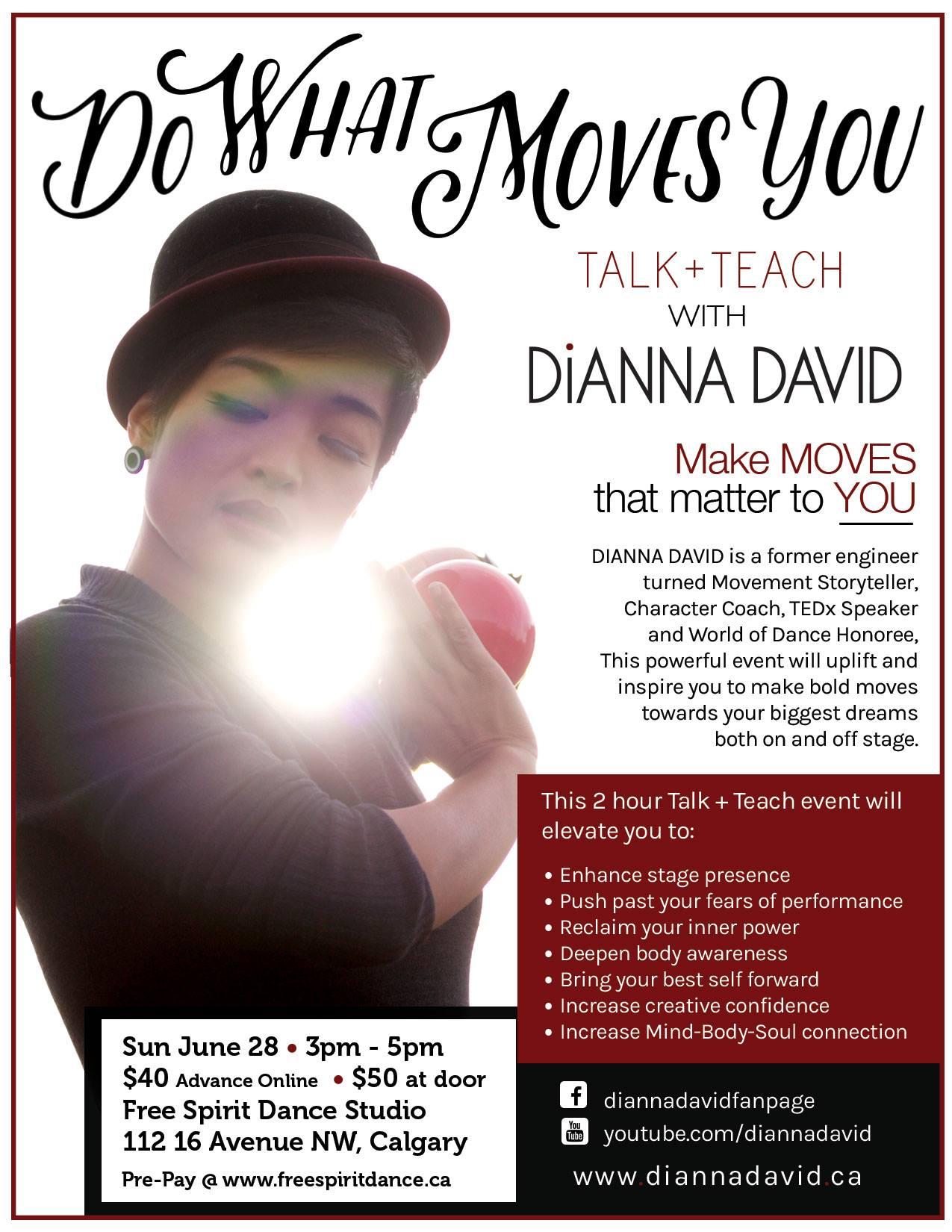Dianna David Workshop Free Spirit Dance