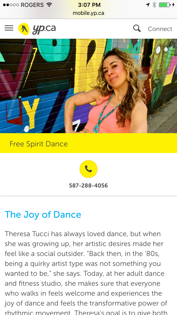 Theresa Tucci Owner of Free Spirit Dance