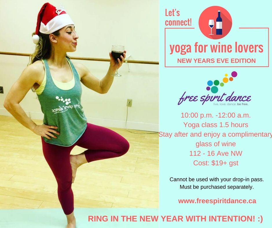New Year's Eve Yoga Calgary