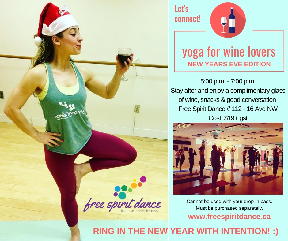 New Year's Eve Yoga Calgary