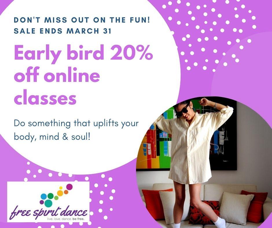 online dance classes calgary